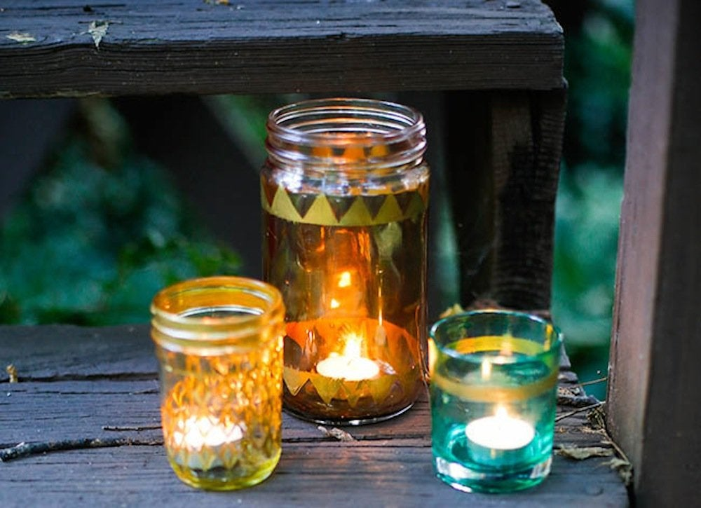 Diy candle votives