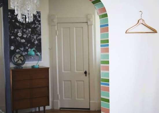 Washi tape doorway