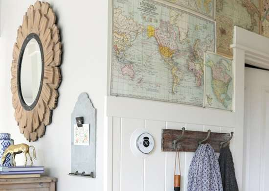 DIY Map Walls