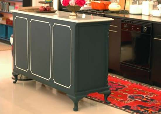 Convert A Dresser To A Kitchen Island