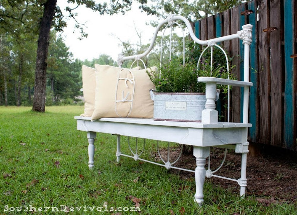 Repurposed furniture 16 new ways to use your old for Repurposed metal furniture