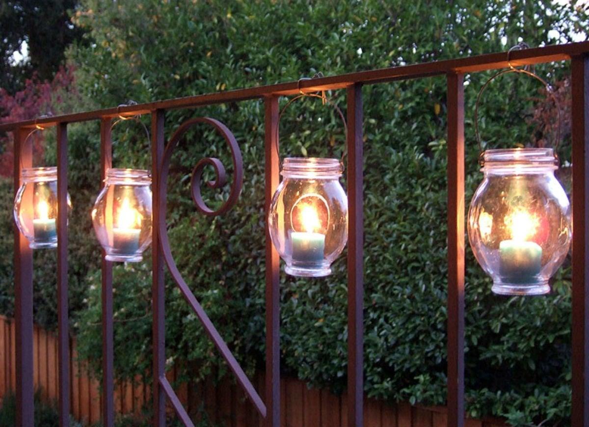 Dollar store   lanterns