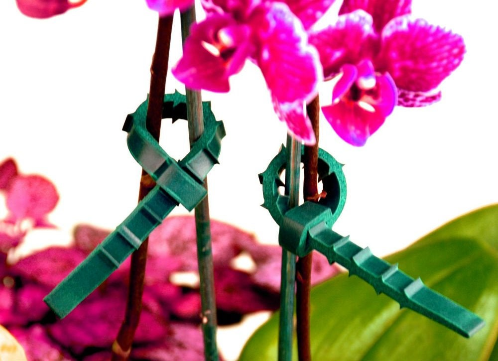 Zip ties   lift up flowers
