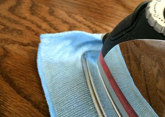 Remove Dents in Wood with a Clothes Iron