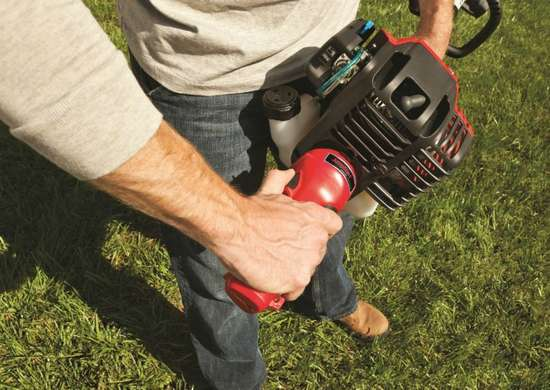 Troy-Bilt String Trimmer with Attachments