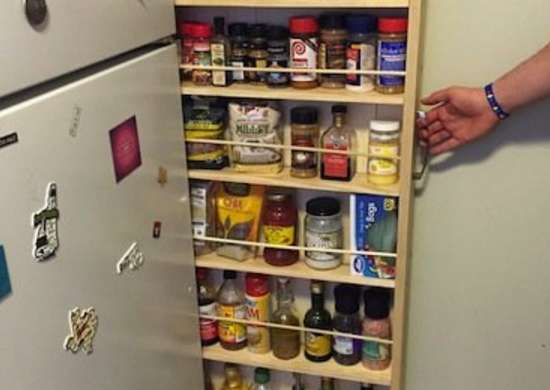 Slim Kitchen Storage Unit