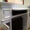 Storage Fireplace Mantel