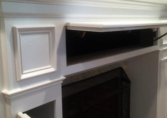"""Fireplace Storage storage fireplace mantel - smart storage - 20 """"sneaky"""" ideas - bob"""