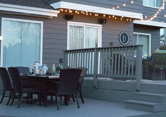 Paint Your Deck to Match Your Home
