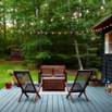 Try String Lights for Ambient Lighting