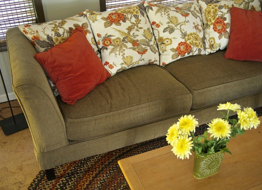 Replace The Stuffing To Fix A Saggy Sofa DIY Couch