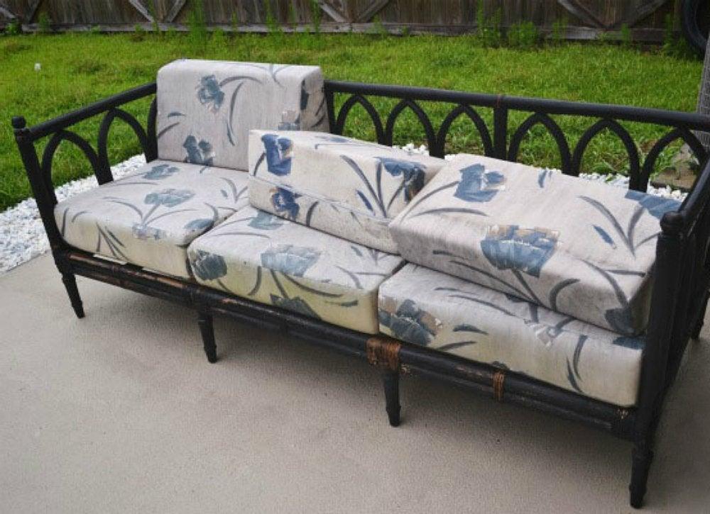 Thrift Store Outdoor Sofa
