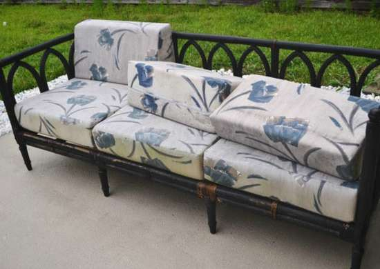 Thrift Store Outdoor Sofa
