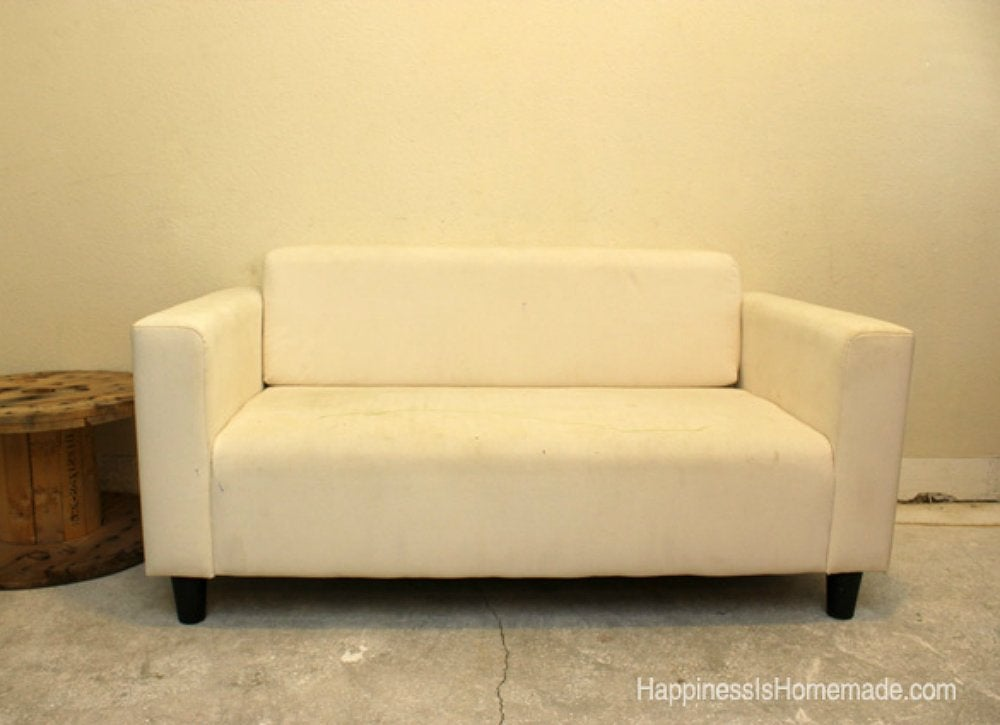 Stained White IKEA Couch