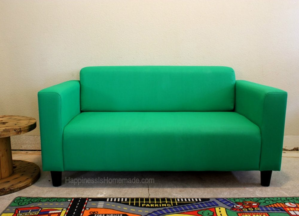 Green-painted-sofa