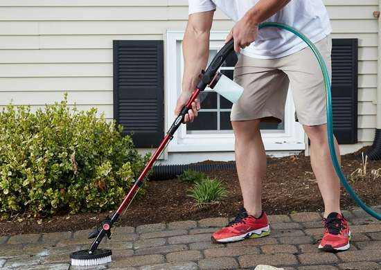 HYDE PivotPro Water Wand for Outdoor Cleaning