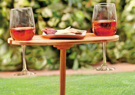 Portable Bamboo Picnic Table