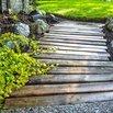 DIY Pallet Garden Path