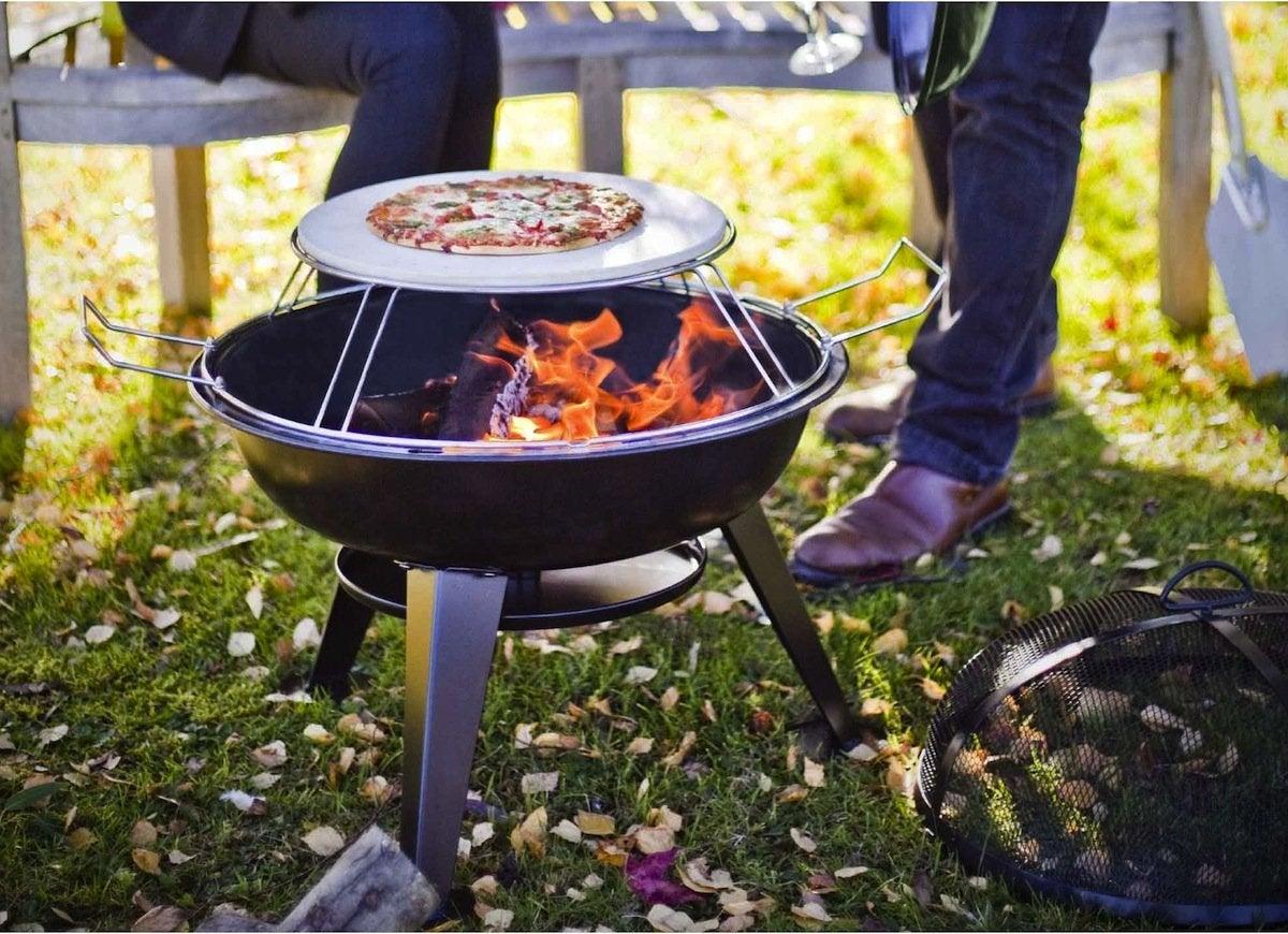 Pizza fire pit