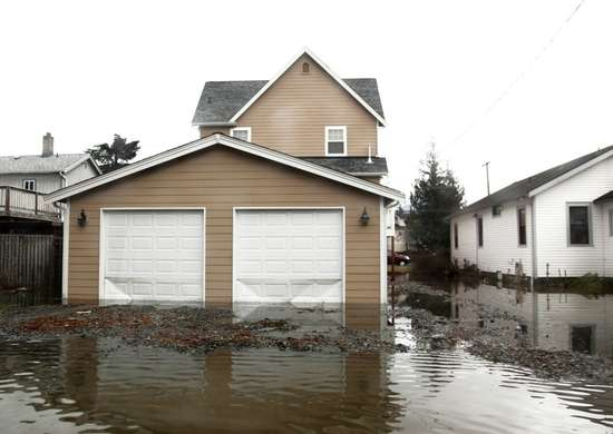 House Located in a Flood Zone
