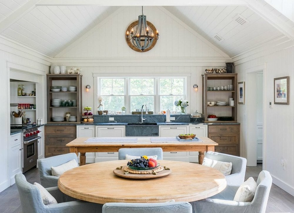Cool kitchens 18 designs we love bob vila for Dining room kitchen