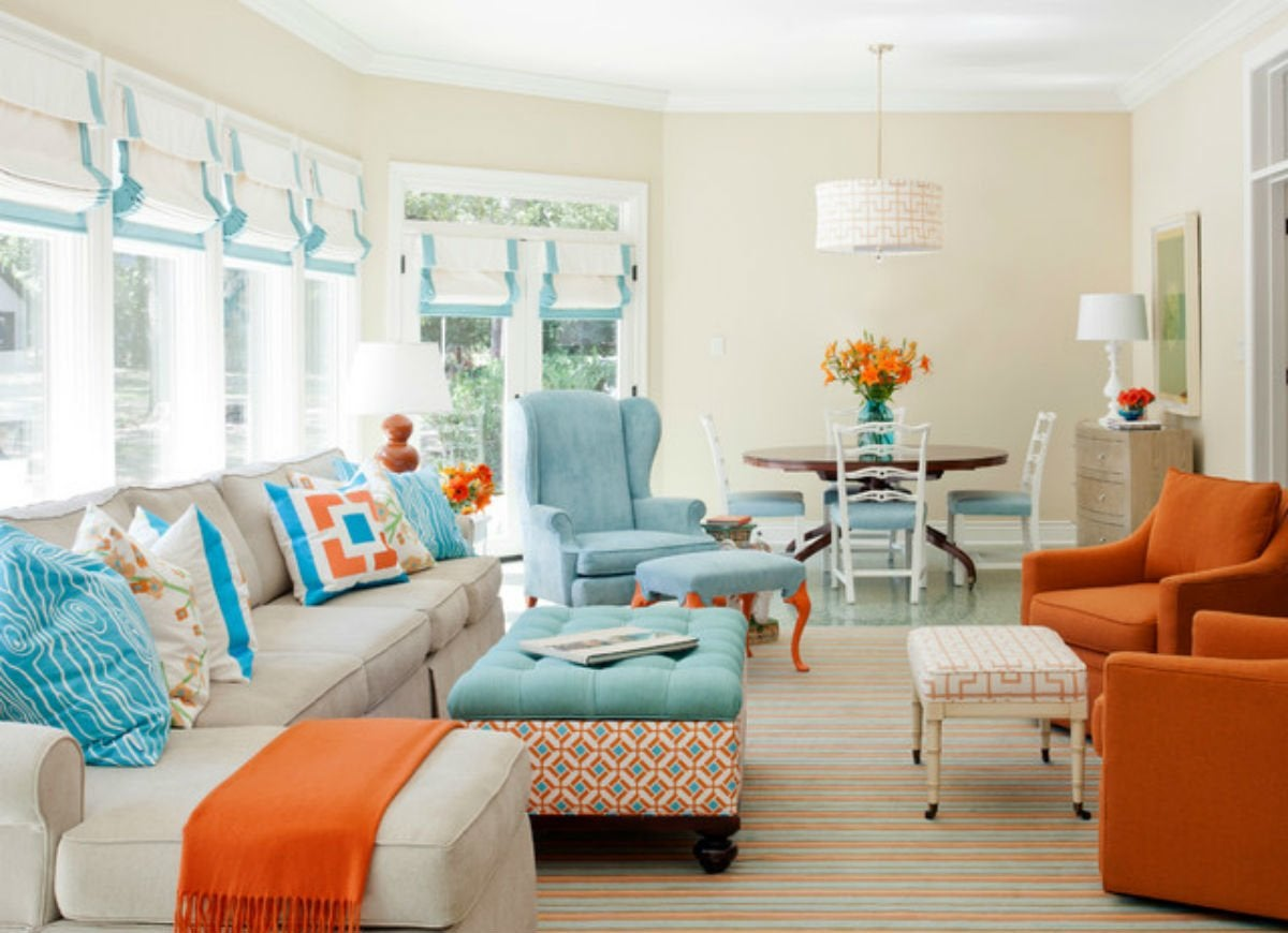 coastal living room - 9 paint color rules worth breaking - bob vila