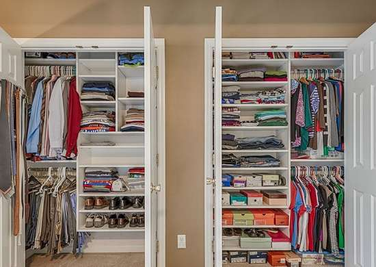 Put Most of Your Clothes in Storage