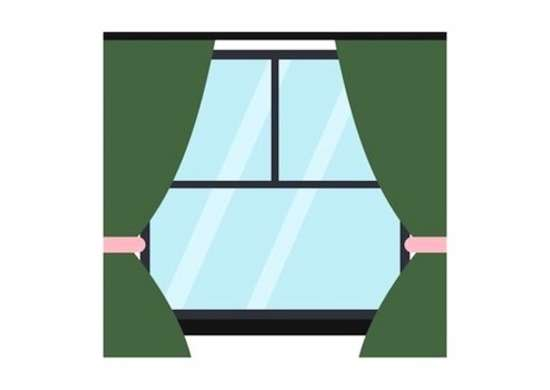Energy efficient windows illustration