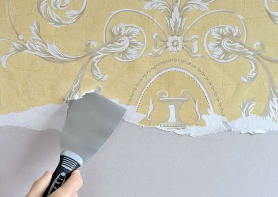 3inch putty knife removing wallpaper
