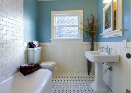 Small tile repair jobs in bathroom