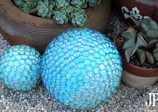 Marble Gazing Globe