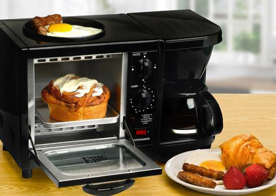 MaxiMatic Cuisine Multifunction Breakfast Station