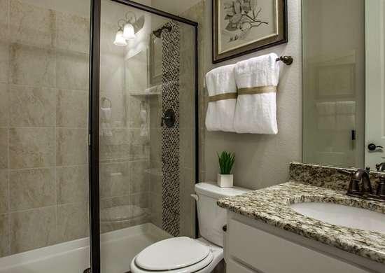 Styled bathroom