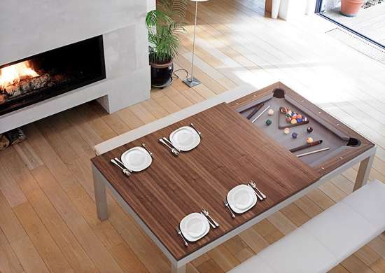 Convertible-pool-table