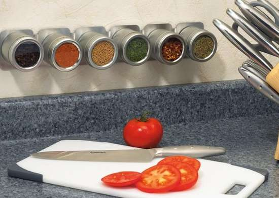 Magnetic Strips Kitchen Storage