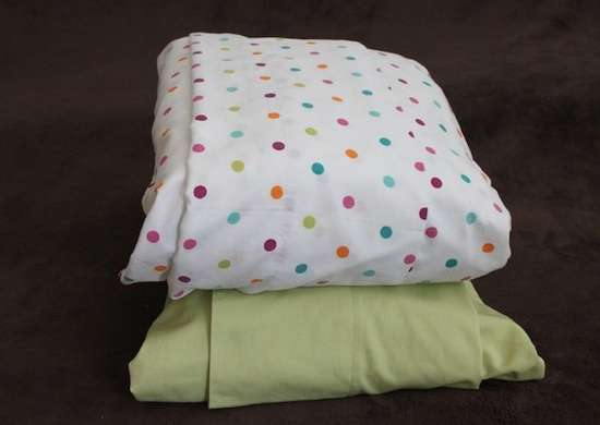 Store sheets in pillow case coverphoto1