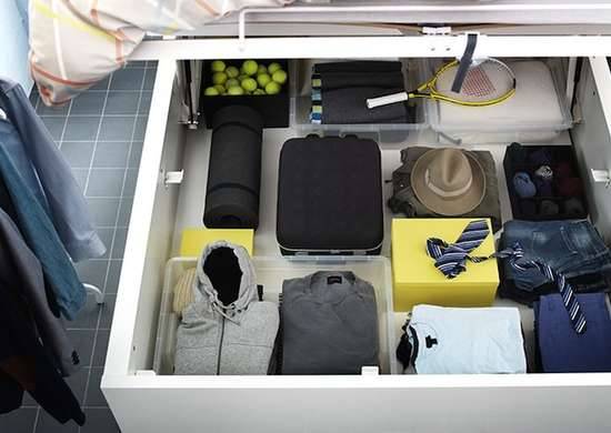 Underbed Storage Idea