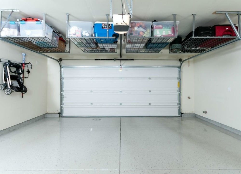 Diy garage storage 12 ideas to steal bob vila for Diy garage cost