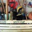 Built a Pallet Shelf