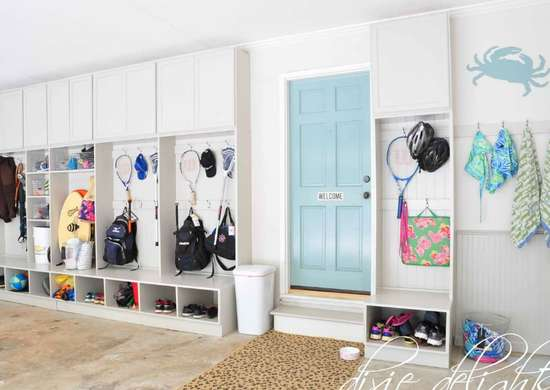 DIY a Garage Mudroom