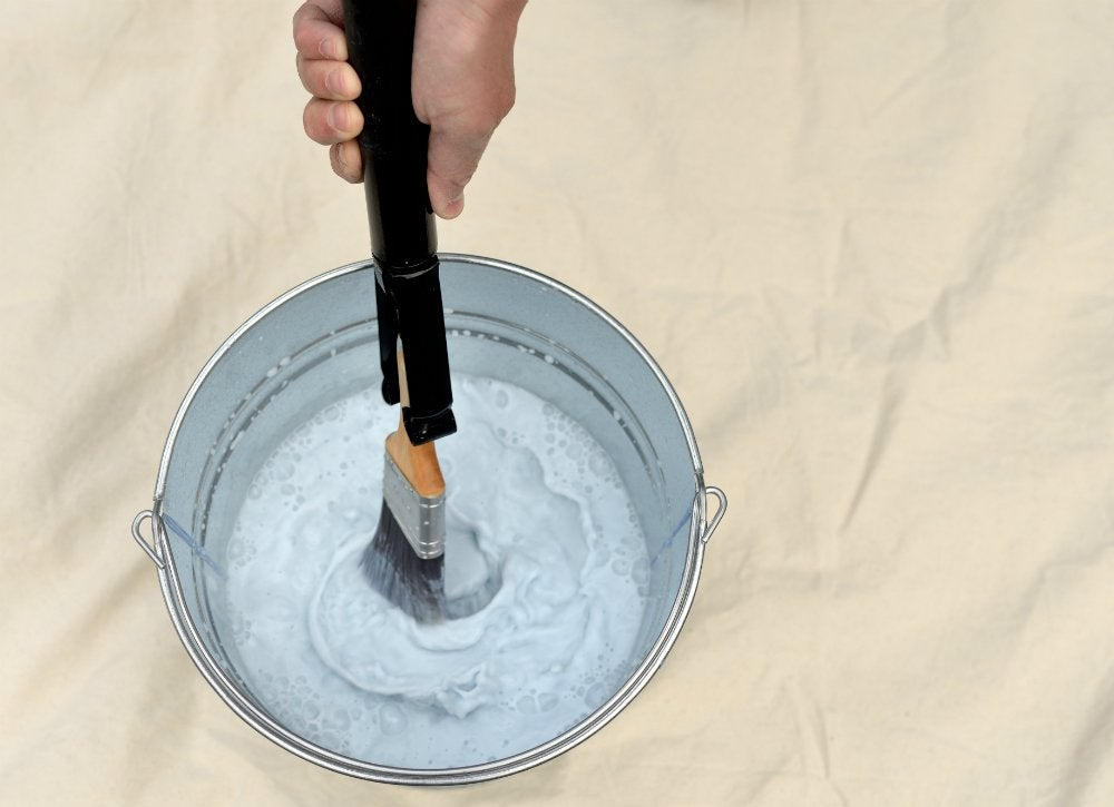 Hyde paint brush and roller spinner in use lg