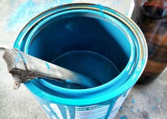 Don't Pour Leftover Paint Down the Drain