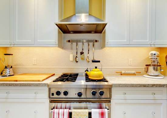 Polish kitchen cabinets