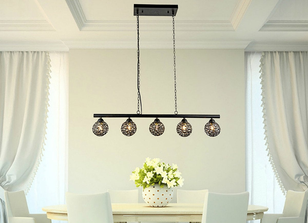 Ironwork pendant light overstock