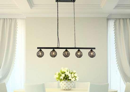 Ironwork pendant light overstock