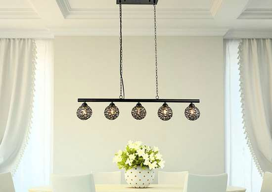 5-light Linear Pendant