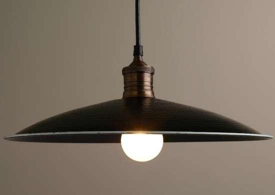 Black Enamel Adrian Pendant Lamp