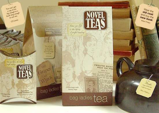 Novel Teas - Literary Tea Gift