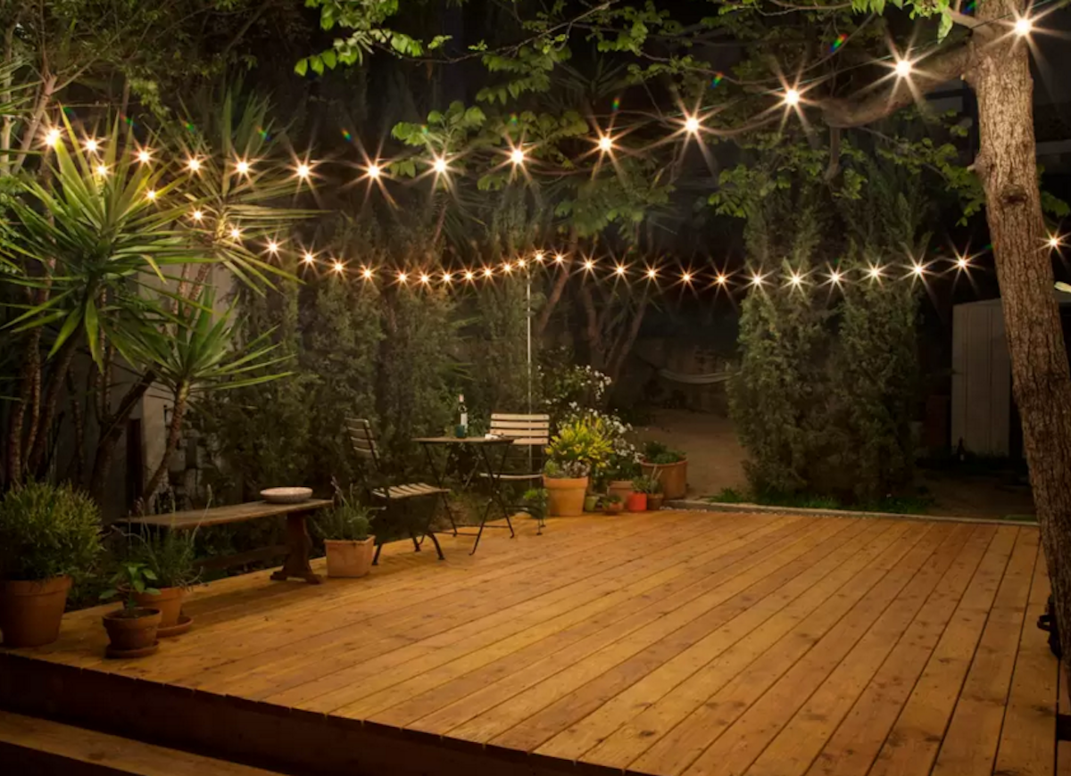 Small backyard ideas deck