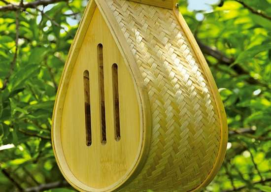 Gardeners Supply Company Bamboo Butterfly House